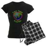 LoveYourEarth Women's Dark Pajamas