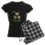 Love of the Irish Women's Dark Pajamas