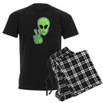 Peace Alien Men's Dark Pajamas