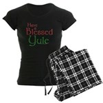 Blessed Yule Women's Dark Pajamas