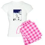 Tracks in the Snow Women's Light Pajamas