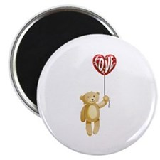 "Teddy Bear Love 2.25"" Magnet (10 pack)"