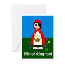 Little Red Riding Hood Invitations (Package of