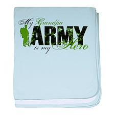 Grandpa Hero3 - ARMY baby blanket