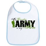 Grandpa Hero3 - ARMY Bib