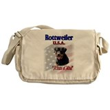Rottweiler USA Messenger Bag