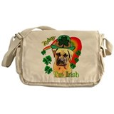 St. Patrick's Bullmastiff Messenger Bag
