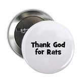 Thank God For Rats Button