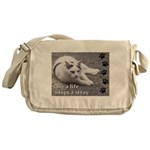 Adopt a Stray Messenger Bag