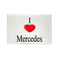 Mercedes Rectangle Magnet (10 pack)