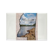 Cute Mississippi Rectangle Magnet (10 pack)