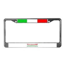Cute Italy License Plate Frame