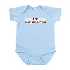 I Love San Luis Potosi Infant Creeper