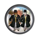 ROOSEVELT BEARS IN NEW YORK - Wall Clock