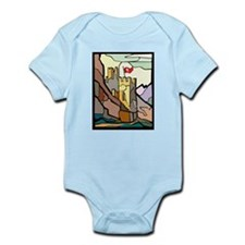 Landmarks of the Faith Infant Creeper