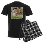 MAD HATTER'S TEA PARTY Men's Dark Pajamas