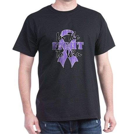 Hodgkins Lymphoma In The Fight Dark T-Shirt