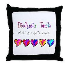 Dialysis III Throw Pillow