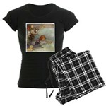 ALICE & THE CAUCUS RACE Women's Dark Pajamas
