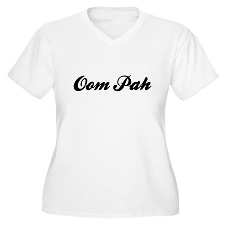 Oom Pah Women's Plus Size V-Neck T-Shirt