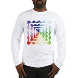 A Splash of Tye Dye Long Sleeve T-Shirt