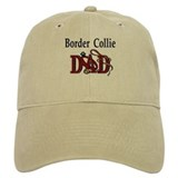 Border Collie Dad Baseball Cap