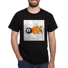 Eight Ball on Fire T-Shirt