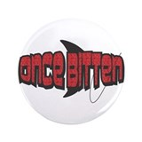 "Once Bitten Fishing Design 3.5"" Button (100 p"