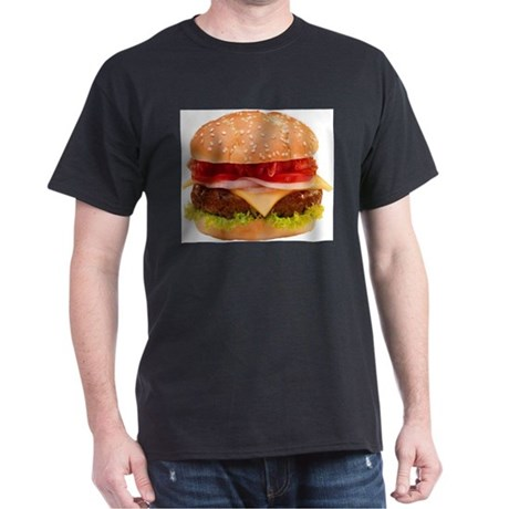 yummy cheeseburger photo Dark T-Shirt