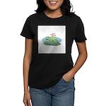 Frogs in Love Women's Dark T-Shirt