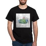 Frogs in Love Dark T-Shirt