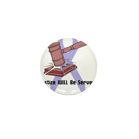 Domestic Violence Justice Mini Button