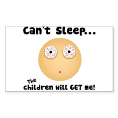 Children Will get Me Sticker (Rectangle 10 pk)
