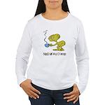 Cofee Alien Women's Long Sleeve T-Shirt