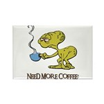 Cofee Alien Rectangle Magnet (100 pack)