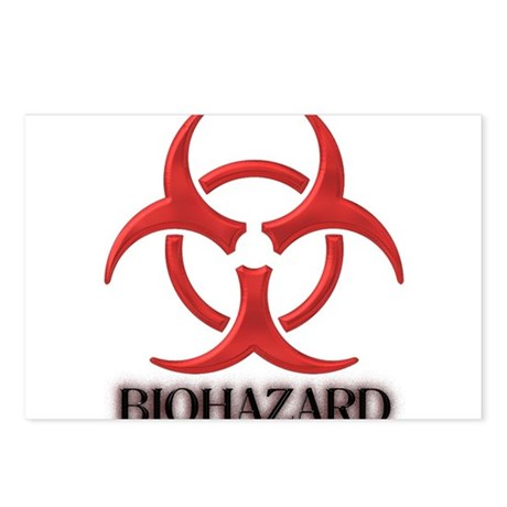 BIOHAZARD Postcards (Package of 8)