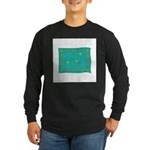 Capricorn Constellation Tapes Long Sleeve Dark T-S
