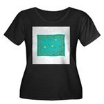 Capricorn Constellation Tapes Women's Plus Size Sc