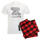 Owens Battles Quote pajamas