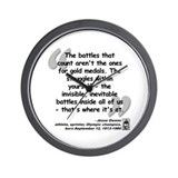 Owens Battles Quote Wall Clock