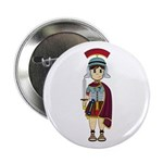 "Cute Roman Soldier 2.25"" Button"