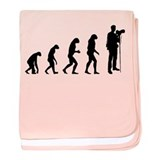 Evolution photographer baby blanket