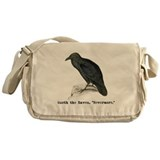 Edgar Allen Poe Messenger Bag