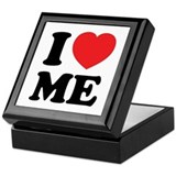 I LOVE ME Keepsake Box