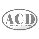 ACD Abbreviation Australian Cattle Dog Decal