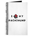 I *heart* My Dachshund Journal