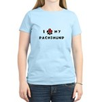 I *heart* My Dachshund Women's Light T-Shirt