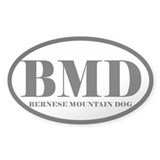 BMD Abbreviation Bernese Mountain Dog Decal