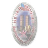 Never Forget 9 11 Decal