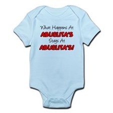 What Happens At Abuelita's Infant Bodysuit